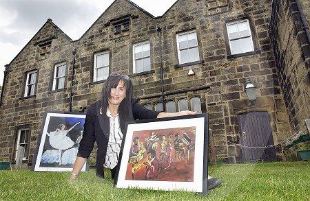 Liz Solo Exhibition at Baildon Hall
