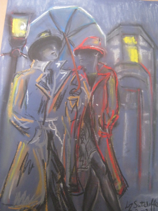 """""""Partners 2 """" in pastel"""
